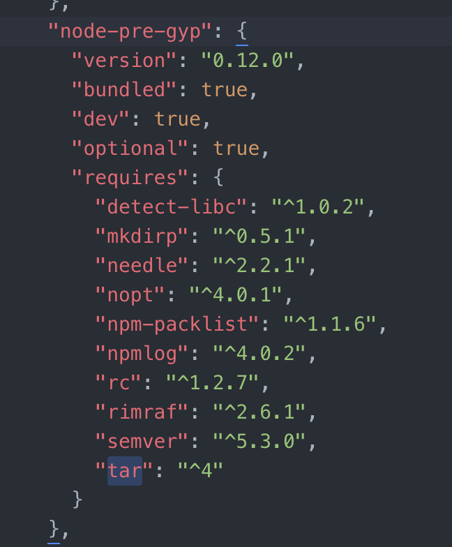 package-lock.jsonの中身